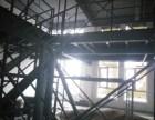 石家庄钢结构阳台制作扩建,钢结构二层钢架铺板浇筑