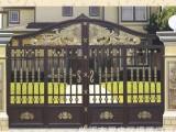 铝艺别墅大门安装 天津铝艺别墅围栏
