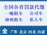 廣東交通違章處理,異地車輛違章代繳,廣州深圳租車違章處理辦理