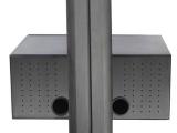视频设备机箱 移动电视推车配件 可升降小机箱 移动电脑推车 支架