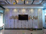 拼镜 ktv 艺术镜 背景墙玻璃墙 实地工程 斜边镜