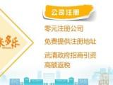 武清免费注册提供地址 记账报税工商疑难注销