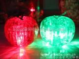3d水晶立体拼图 创意礼品益智拼装玩具批发 带灯LED苹果