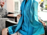 2014韩版 棉麻玫瑰花披肩 防晒空调披肩 秋冬围巾批发 一件代