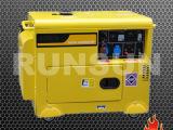 融商 静音式7千瓦风冷柴油发电机组 出口欧美品质