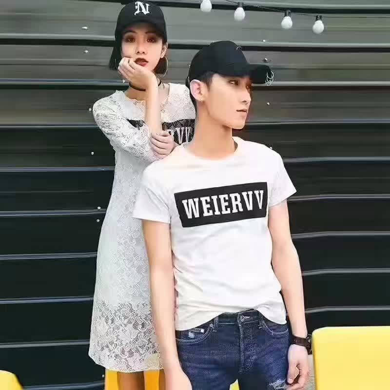 厂家尾货夏季新款韩版纯棉男装T恤低至5元件适合摆地摊赶集夜市