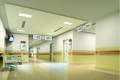 医疗空间设计 门诊部装修 医院装修设计效果图   小贴士:重庆医院装修