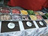 今年年会餐饮来一点儿不一样,椰子鸡火锅,海鲜大盆菜上门包办