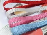长期供应 优质10mm帽带罗纹带 蝴蝶结配件发夹diy材料包小额