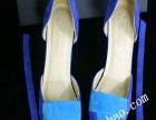 蓝色气质女鞋