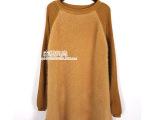 欧洲站2014新款女式水貂绒毛衣韩版长款时尚修身纯色打底外穿毛衣
