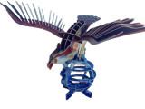 3D立体拼图 儿童益智早教玩具 手工DIY老鹰模型 优质纸质拼图