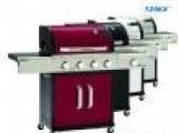 家用烧烤设备四炉头不锈钢户外燃气烧烤炉 德国品牌