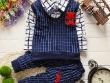 婴幼儿童装一件代发韩版男童韩版春款2件套包邮代发