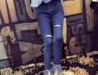 原单秋装韩版女式小脚裤批发江苏泰州哪里有厂家几元地摊赶集货源