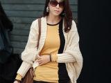 2014春秋装新款韩版女士长袖高领拼色T恤 纽扣修身打底衫 H1