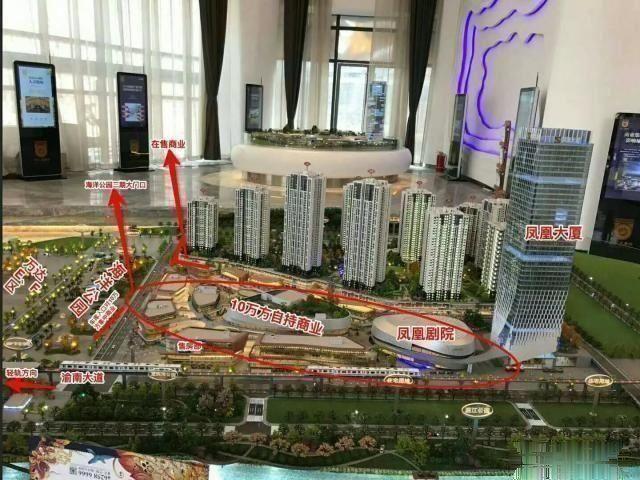 万达龙洲湾商圈+转角铺+正对海洋公园出口+集中商业