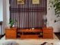 缅甸黄花梨明式电视柜