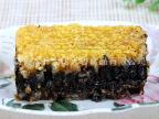 黑蜂蜂巢新疆伊犁山花蜜纯天然巢蜜盒装 黑蜂蜂蜜巢原生态200g
