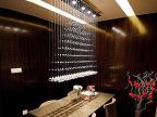 简约时尚餐吊灯 LED吧台灯吊线餐厅灯饰 现代水晶灯具批发 X204