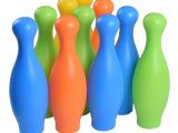 儿童体育玩具 奥杰4003乐趣10寸保龄球塑胶儿童玩具