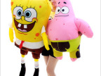 毛绒玩具批发价 正版 海绵宝宝 派大星 布娃娃 情侣礼物
