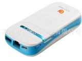 3G无线WIFI路由器移动电源 自带SIM卡槽 IPHONE充电