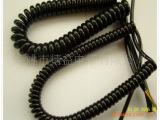 生产弹簧线 PVC弹簧线 PU弹簧线 多芯环保弹簧线 插头电线弹