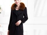 秋冬外套 新品羊毛大衣女款宽松长款羊毛外套女 款式多样