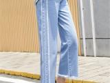新塘牛仔裤8一12元批发 几元低价女装牛仔裤服装批发