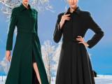 女神的新衣同款 秋冬新款显瘦长款风衣羊 毛呢外套毛呢大衣女爆款