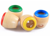 木制儿童益智玩具万花筒神奇蜂眼效果多棱显微镜木质怀旧探索玩具
