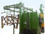 佛山悬链式抛丸机悬挂式钢结构件抛丸除锈机