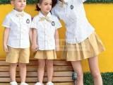 2017韩版新款夏季儿童套装幼儿园老师学生同款套装定做