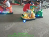 新款咪咪碰碰车广场双人儿童动物车卡通电瓶碰碰车儿童游乐设备