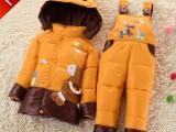 正品婴幼儿羽绒服两件套 男童女童儿童羽绒服宝宝羽绒套装可开档