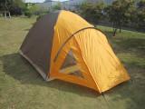 3~4人双层户外野营帐篷 三口之家用帐篷 情侣帐篷 户外野营帐篷