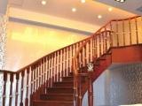 鸡西楼梯木扶手厂家订做批发