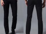 免费加盟 新款男式商务休闲裤 修身防水防油免烫长裤子