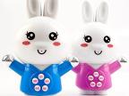 厂家批发 人体传感多人互动会弹琴多乐兔 灯光音乐 儿童益智玩具