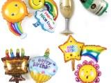 江苏铝膜气球定制圆形心形卡通形状广告铝箔气球