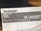 夏普508钛磁头录放机,3碟连放VCD