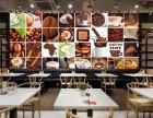 咖啡馆壁画/咖啡馆壁纸/咖啡馆壁画图片/姿彩壁画