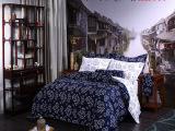 瑶莱正品 主题酒店布草贡缎套件 60支贡缎江南系列 宾馆布草被套