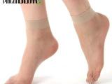 梦娜品彩短丝袜脚尖透明超薄包芯丝正品女袜水晶形防勾丝短丝袜子