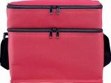 厂家 600D牛津布双层时尚休闲铝膜野餐包,供应单肩铝膜保温冰包
