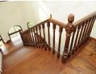 上海别墅实木楼梯 品家楼梯整装定制设计 橡木古典楼梯