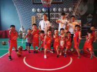 武汉国际展览中心少儿篮球训练营开课啦