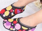 新款加绒加厚宝宝早教袜套儿童船袜 儿童印花款防滑地板袜空调袜