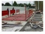 水泥厂自动洗车机 泥土车洗轮机 环保除尘洗车台